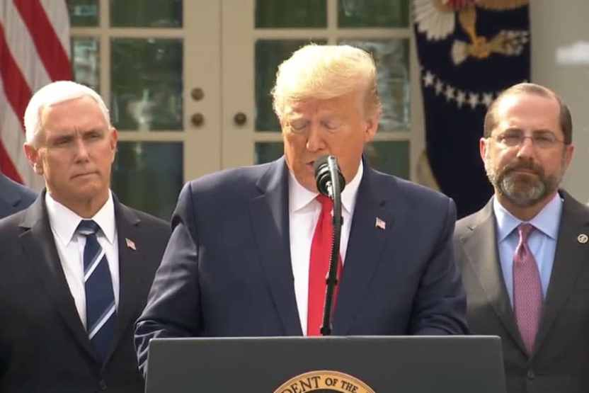 trump emergencia covid19 - Estados Unidos declara emergencia nacional y libera 60 mil MdD - #Noticias