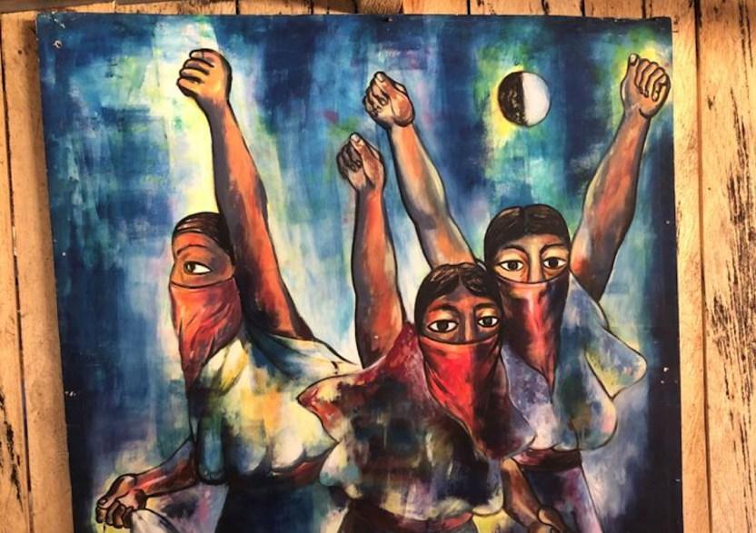 zapatistas OK - Zapatistas prenderán velas en el #9M por las muertas y desaparecidas - #Noticias