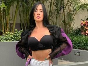 Diosa - Así luce la barriga de Diosa Canales con su avanzado embarazo (Imágenes)