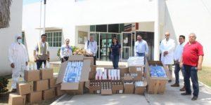 Fotonota 660x330 - Distribuyen alimentos a personal que se encuentra en módulos de mitigación del Covid – Archivo Digital Colima