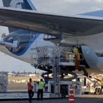 cargamento - Sexto vuelo con 153 mil caretas protectoras para personal de salud llega a México desde China