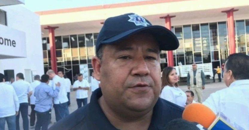carlos rodriguez ponce director de seguridad publica de ahome crop1585840703608.jpg 673822677 - Refuerzan operativos en Los Mochis para evitar aglomeración de personas