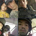 fotos narcofamilia papa y su pequeno hijo exhibidos por ser sicarios del cjng - El CJNG sigue reclutando niños para convertirlos en sicarios