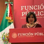 se eliminan plazas Irma Erendira Sandoval  - Función Pública sanciona a proveedora de equipo médico del IMSS