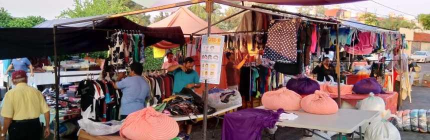 tianguis del municipio de Colima - Alrededor de 2 mil personas que apoyan en tianguis y mercados, temporalmente sin empleo a raíz de Covid 19: Martínez Paredes