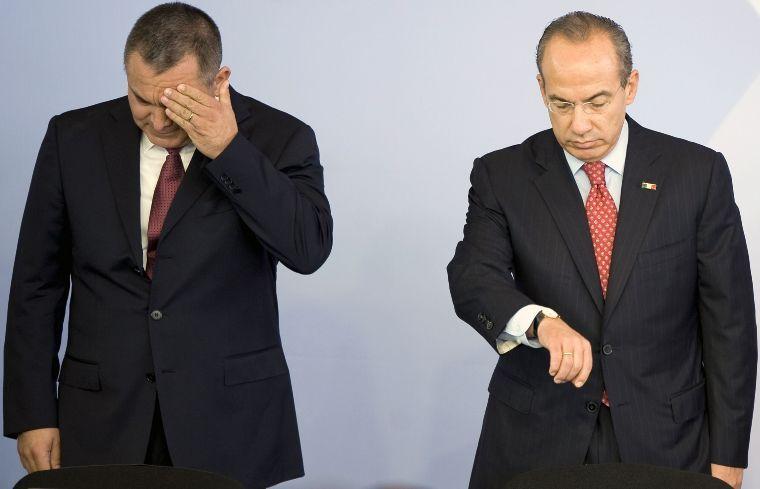 098384 01 04.jpg 1903996487 - Vídeos confirmarían la colusión de Felipe Calderón y García Luna con el crimen organizado