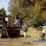 Ayuntamiento retira basura en El Chivato luego de denuncia  - Ayuntamiento retira basura en El Chivato luego de denuncia