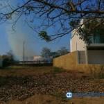 Denuncian quema de basura constantemente en Fraccionamiento La Ceiba en Manzanillo  - Denuncian constante quema de basura en Fraccionamiento La Ceiba en Manzanillo