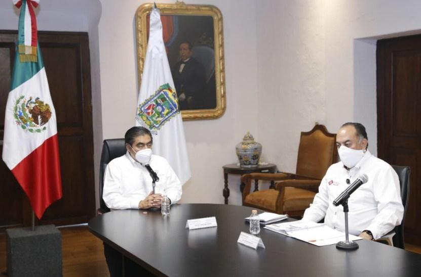 Miguel Barbosa 1 - Gobierno federal alentó la movilización en la curva más alta de contagios: Barbosa
