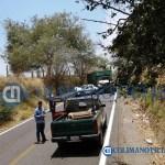 Reportan accidente en la carretera libre cerca de Tonila - Reportan accidente en la carretera libre, cerca de Tonila