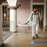 Se sanitizan las oficinas del Ayuntamiento de Colima - Se sanitizan las oficinas del Ayuntamiento de Colima