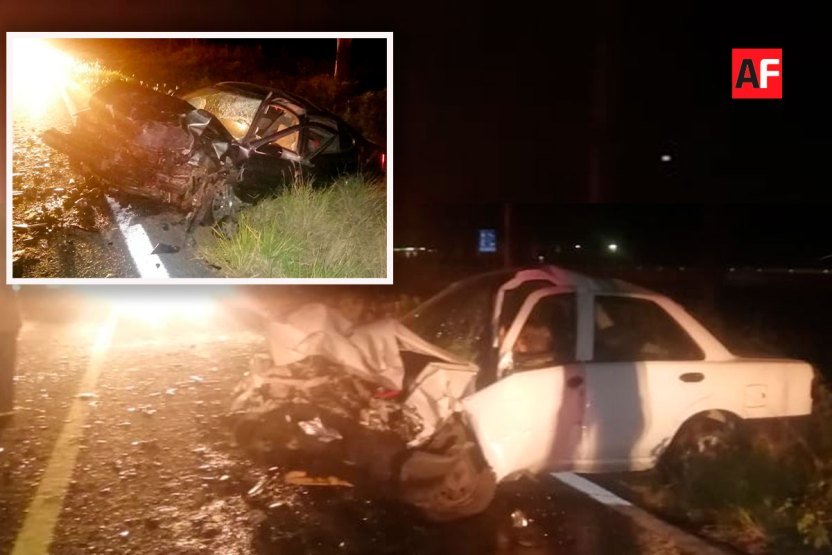 colision choque autos libre colima gdl - Dos autos colisionan en la libre Cd Guzmán-Colima; saldo una persona fallecida