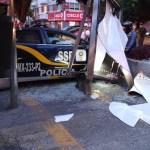 companeros policia sufrio infarto perdio 0 74 1152 716 - VIDEO: Una patrulla embiste a gran velocidad a una camioneta y provoca que vuelque, en la CdMx