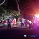 fatal accidente En El Chivato - Fuerte accidente rumbo al Chivato, deja un joven muerto y dos lesionados