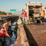 limpiezaucol - Ayuntamiento de Colima trabaja en la limpieza y desazolve de canales y arroyos de la ciudad