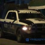 policia estatal noche mzllo - Disparan contra patrulla de la policía estatal en el ejido La Central