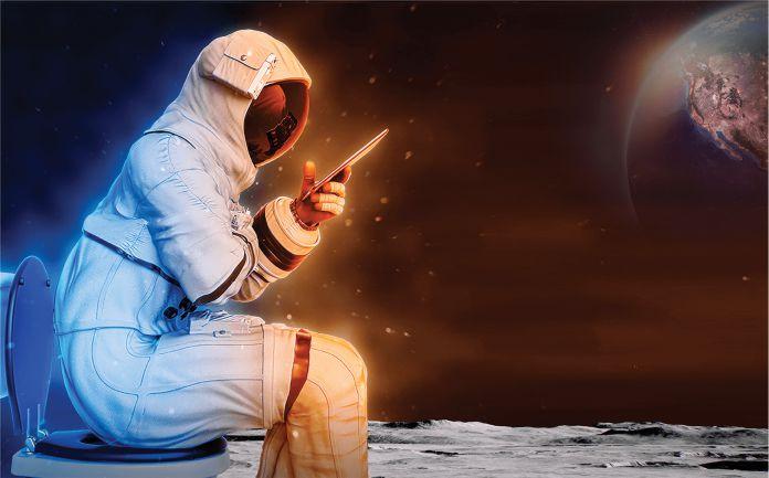 Cómo cagarán los astronautas en la Luna - ¿Cómo cagarán los astronautas en la Luna?