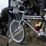 """afilador atropellado - """"Ni una bicicleta blanca más"""", exigen familiares de afilador atropellado y ciclistas en el Valle de México"""