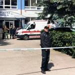 ataque escuela praga - Un hombre ataca con un cuchillo en primaria de Eslovaquia; deja un muerto y 5 heridos. Policías lo abaten