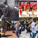 hincarse protesta - Hincar la rodilla en el suelo para rechazar el abuso policial y a los fascistas, ¿de dónde viene?