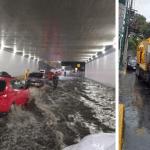 lluvia cdmx - Autoridades de la CdMx activan Alerta Amarilla por fuertes lluvias en al menos ocho demarcaciones