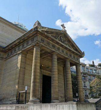 Chapelle Expiatoire @ Square Louis XVI @ Paris 33975362270 - París: descubren en una capilla los restos de hasta 500 guillotinados durante la Revolución Francesa
