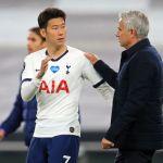 """GettyImages 1224916798 - """"Fue hermoso"""": José Mourinho festeja la pelea entre sus jugadores Hugo Lloris y Heung-min Son"""