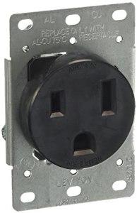 Leviton 001-05374-S00 Receptáculo Entrada Recta Industrial 50A 250V 2P3H Nema 6-50R, pack of/paquete de 1