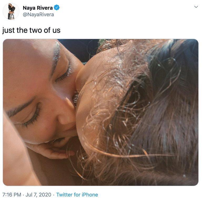 MZBGA5ZHMVBYTB247VFZVOSWTM - Naya Rivera habría muerto tratando de salvar a su hijo
