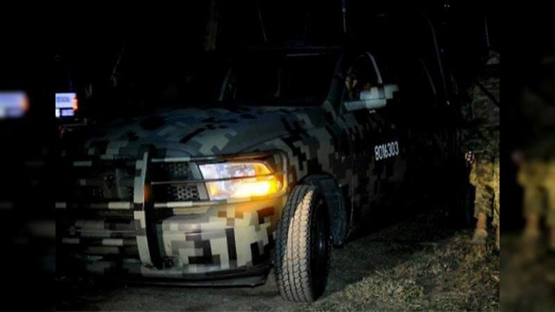 apatzingan enfrentamineto 2 - Enfrentamiento en Michoacán de deja al menos dos muertos y cuatro heridos