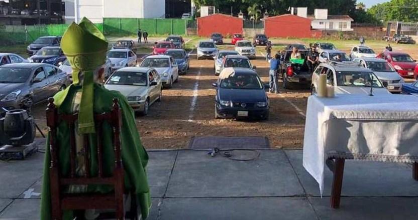 """automisa - La primera """"automisa"""" se lleva a cabo en Morelos tras 4 meses sin celebraciones por la COVID-19"""
