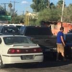 bloqueo sonoyta - Pobladores de Sonoyta, Sonora, cierran paso con Arizona, EU, por temor a un brote de coronavirus