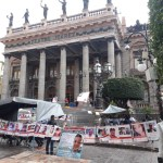 desaparecidos guanajuato planton 2 - Exigen al gobierno de Guanajuato reponer proceso para nombrar al titular de la Comisión de Búsqueda