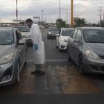 frontera - Sonora y Tamaulipas instalan filtros en la frontera para limitar el cruce de personas ante la COVID-19