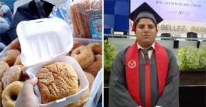 jose4m - Joven vendió comida en la calle para terminar sus estudios universitarios. Pudo pagar su título
