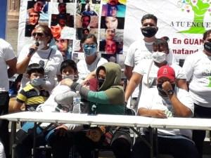 planton guanajuato - Familiares de desaparecidos denuncian amenazas y desinterés del gobierno de Guanajuato