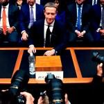zuckerberg - Pichai (Google), Zuckerberg (FB), Bezos (Amazon) y Cook (Apple) comparecen en EU por acumular poder digital