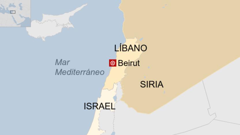 113813167 mapabeirut - Líbano: qué se sabe de las causas de la devastadora explosión en Beirut que dejó decenas de muertos y miles de heridos