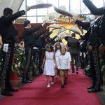 """Camila Fernandez llego al alta 1159759 - Así fue la boda de Camila Fernández: """"El Potrillo"""" cantó a los novios"""