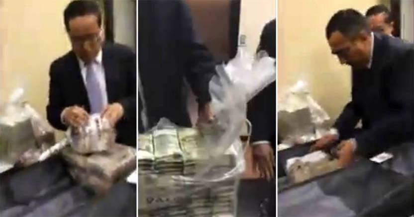 Filtran posible video evidencia de Lozoya contra Peña Nieto - Filtran posible video evidencia de Lozoya; panista recibe fajos de dinero
