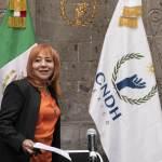 cndh rosario 1 - CNDH presenta acción de inconstitucionalidad contra Ley de Educación poblana