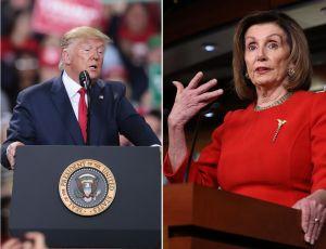 donaldtrump nancypelosi - Pelosi considera que el voto por correo es esencial para la salud de los estadounidenses