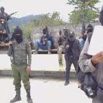 grupo armado chenalho - Se muestra un grupo armado de Chenalhó tras balaceras que dejaron un muerto