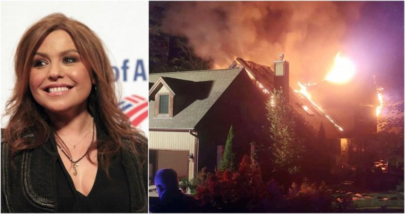 incendio casa rache ray - Un gran incendio consume la casa de Rachael Ray, la estrella de los programas de cocina