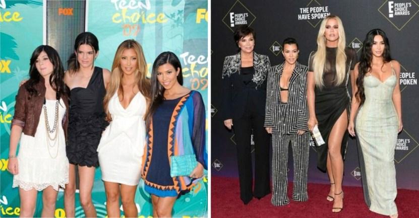 kardashian looks - Estos son los mejores y peores looks de las Kardashian durante los últimos años. ¡Vaya evolución!