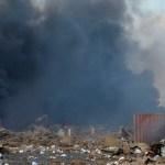 large explosion in ha x23530663x 1 crop1596584086584 crop1596600418585.jpg 673822677 - ¿Qué es el nitrato de amonio, químico que explotó en Beirut, Líbano?