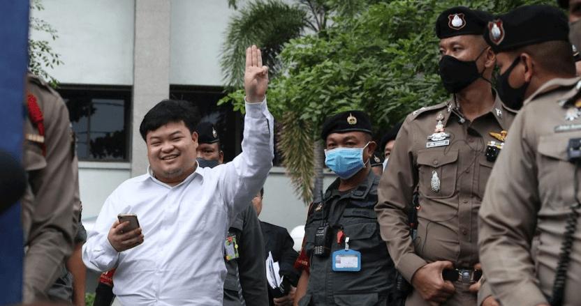 lider estudiantil tailandia - ONGs de DDHH piden que se retiren los cargos contra líder del movimiento estudiantil en Tailandia