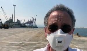 ministro de economia beirut - El puerto de Beirut reanuda sus operaciones
