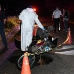 motociclista muere al ser arrollado por un auto en carretera de culiacxn.jpg 673822677 - Motociclista muere al ser arrollado por un auto en carretera de Culiacán