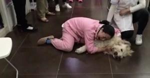 perra envenedada china - Esta mujer abrazando a su perra envenenada ilustra el vacío de China en cuanto a derecho animal